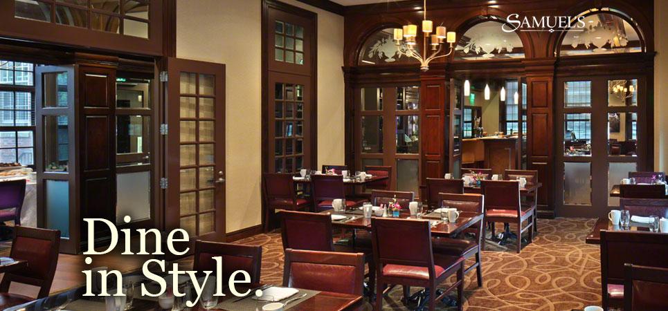 Samuel S Restaurant At The Andover Inn